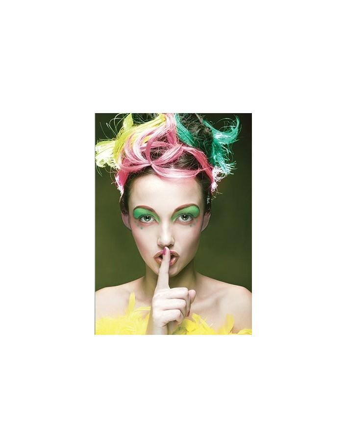 Hcc Αδιάβροχη Mascara Color Corrector No 204 Φούξια