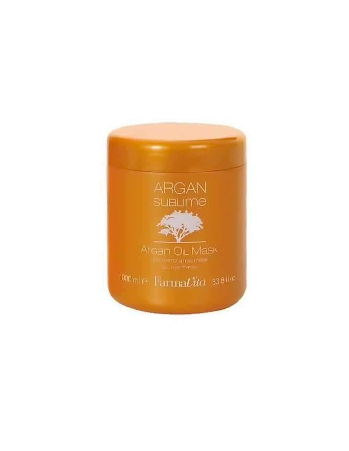 Farmavita Argan Sublime Oil Mask 1000ml 0799 Farmavita Damaged Hair €15.10 product_reduction_percent€12.18