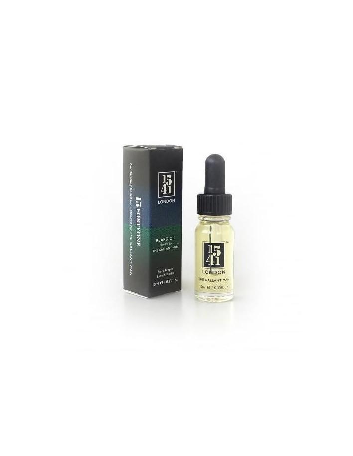 1541 London Beard Oil Black Pepper & Vanilla 10ml 5021 1541 London  Λάδι Γενιών €13.88 product_reduction_percent€11.19