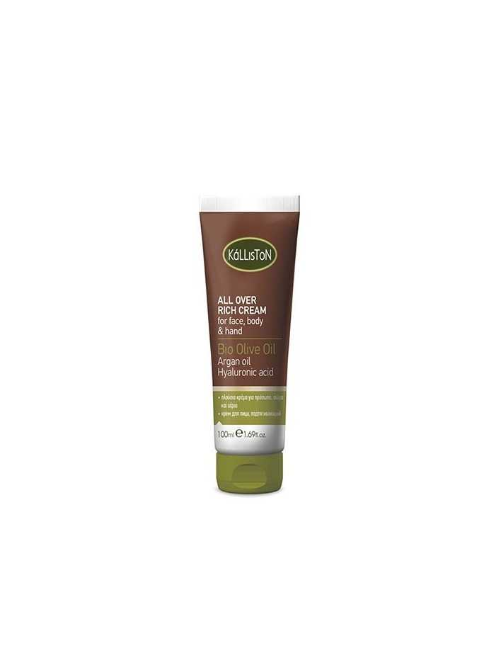 Kalliston Bio Olive Oil All Over Rich Cream 100ml 5036 Kalliston Natural Care Κρέμες €8.30 €6.69
