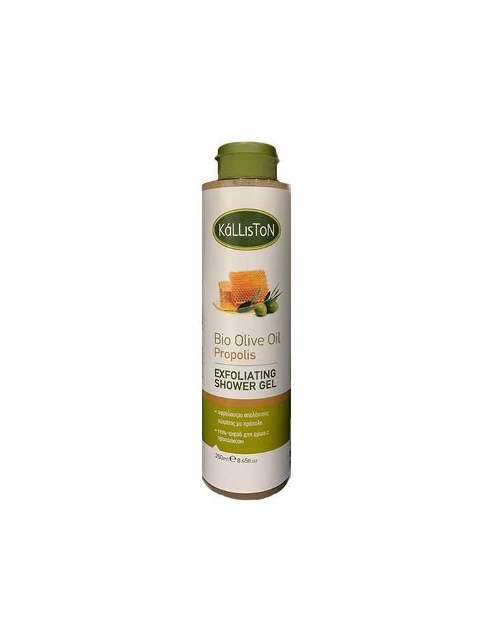 Kalliston Bio Olive Oil Propolis Exfoliating Shower Gel 250ml 5033 Kalliston Natural Care €5.30 €4.27