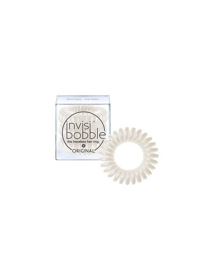 Κοκαλάκια Μαλλιών Invisibobble Traceless Hair Ring Royal Pearl 3x 5103 Invisibobble Κοκαλάκια €5.99 €4.83