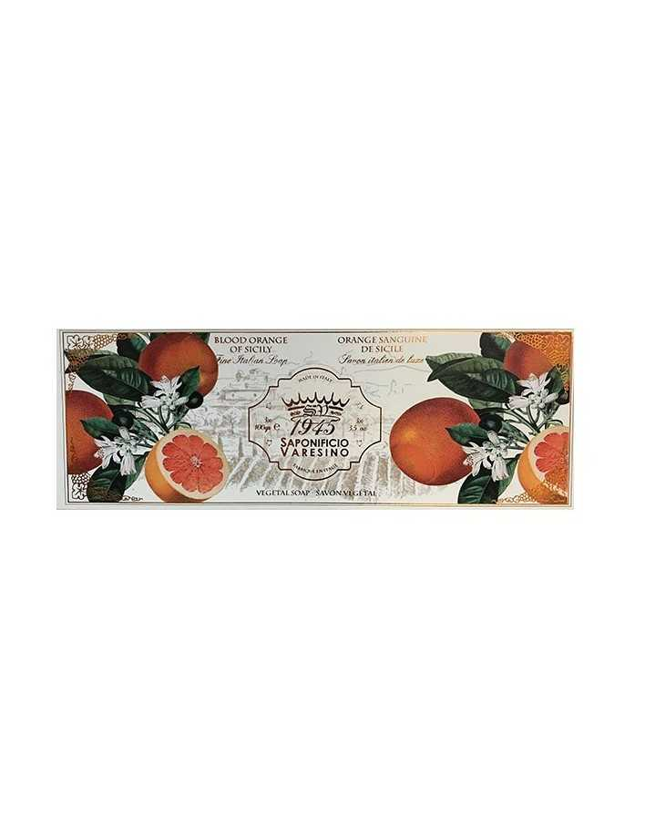 Saponificio Varesino Blood Orange Of Sicily Natural Soap 3x100gr