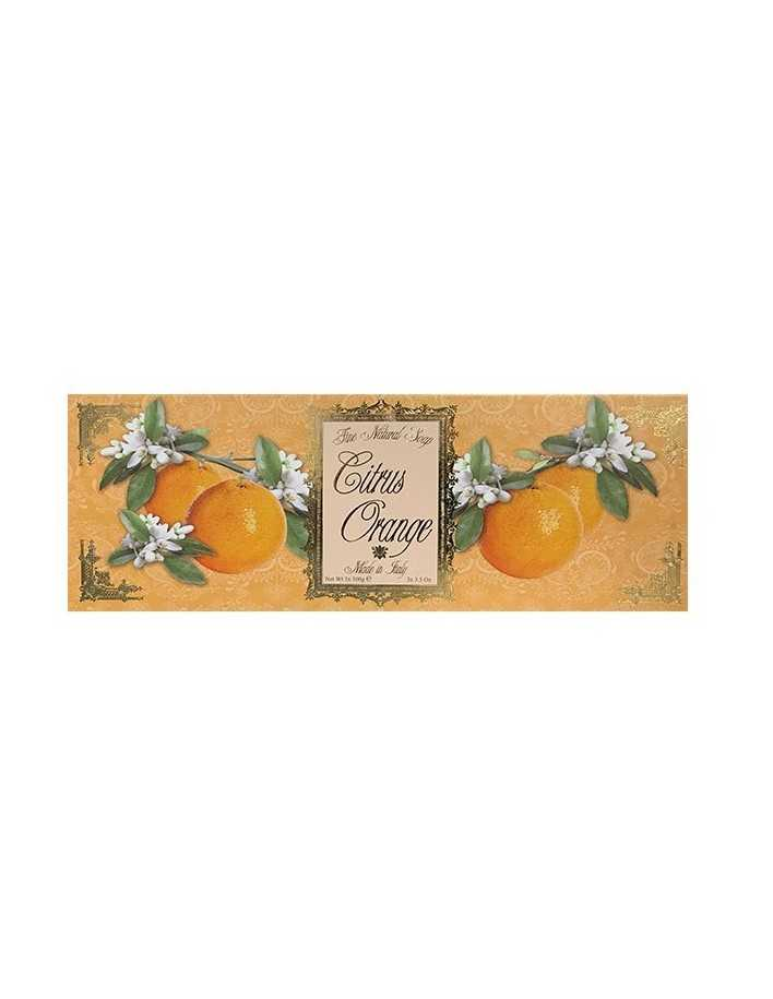 Saponificio Varesino Citrus Orange Natural Soap 3x100gr 5120 Saponificio Varesino Natural Care Soaps €6.70 €5.40