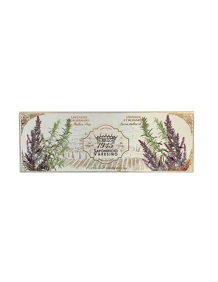 Saponificio Varesino Lavender Rosemary Natural Soap 3x100gr 5122 Saponificio Varesino Natural Care Soaps €6.70 €5.40