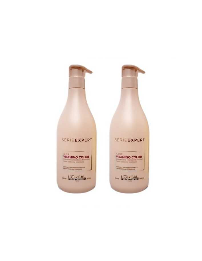 L'oreal Professionnel Vitamino Color Shampoo 2x500ml Set 3243 L'Oréal Professionnel Βαμμένα €25.80 -5%€20.81