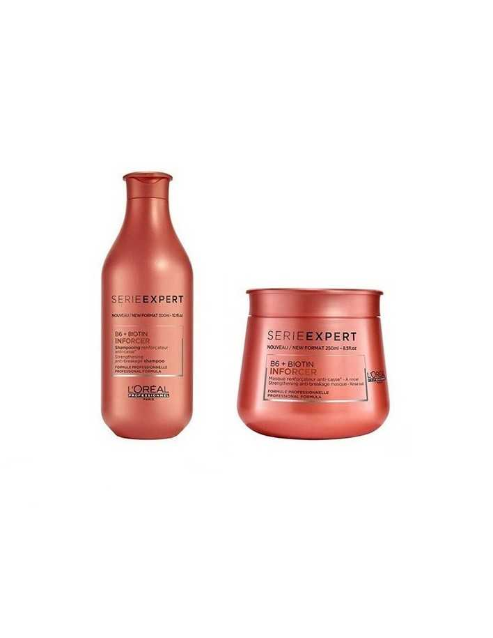 L'Oreal Professionel Serie Expert Pack Inforcer Anti-Breakage Shampoo 300ml & Mask 250ml 5377 L'Oréal Professionnel Πακέτα Γι...