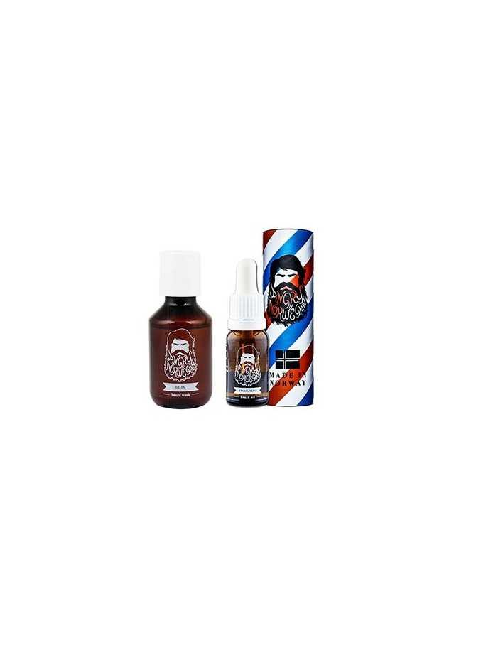 Angry Norwegian Beard Oil Incognito 50ml & DDTS Beard Shampoo 50ml 5411 Angry Norwegian Γένια €32.10 -10%€25.89
