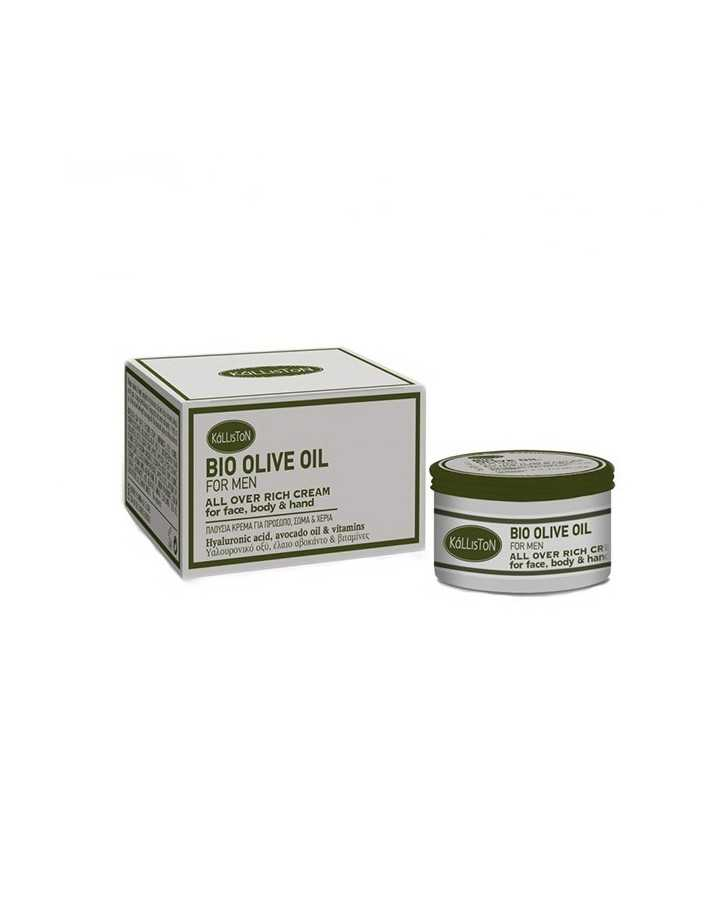 Kalliston Bio Olive Oil For Men All Over Rich Cream 75ml 5468 Kalliston Hydra Creams €6.90 product_reduction_percent€5.56