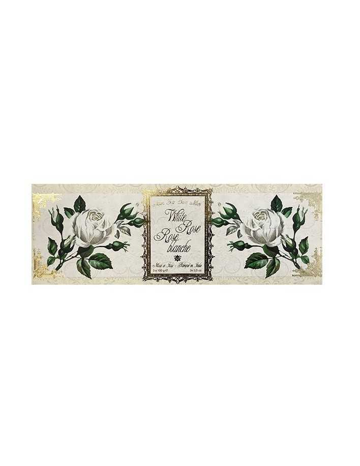 Saponificio Varesino White Rose Natural Soap 3x100gr 5124 Saponificio Varesino Natural Care Soaps €6.70 €5.40