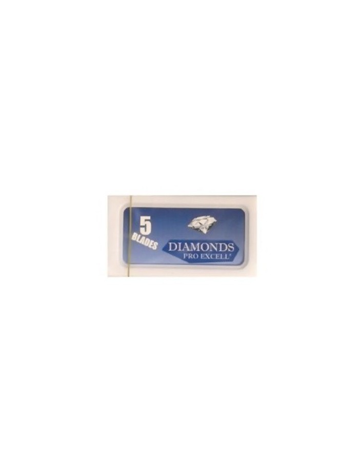 Diamonds Pro Excell Pack 5 Razor Blades 3696 Diamonds Pro Excell Razor Blades €0.39 €0.31