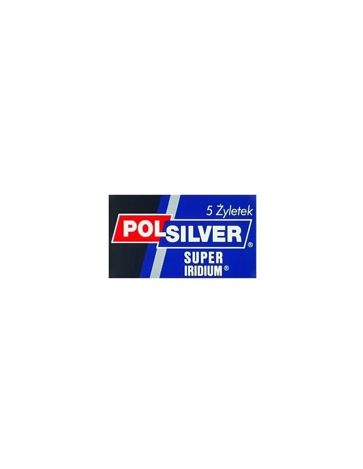 Polsilver Super Iridium Pack 5 Razor Blades 1019 Polsilver Razor Blades €1.80 €1.45