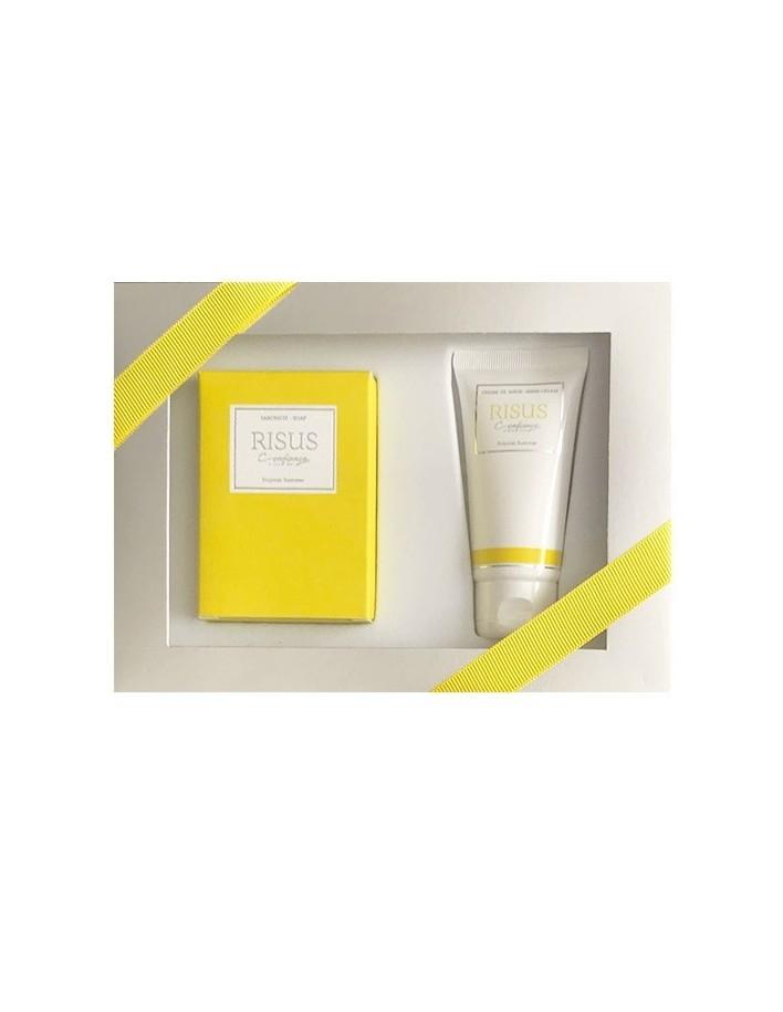 Confianca Risus Gift Box Soap 150gr & Hand Cream 50ml 5688 Confianca Bath & Body €18.90 -20%€15.24