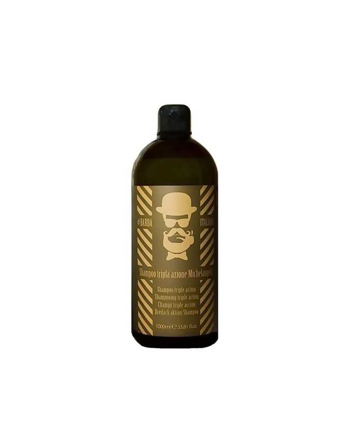 Barba Italiana Shampoo Tri - Action Michelangelo 1000ml 3273 Barba Italiana Σαμπουάν €54.10 -21%€43.63