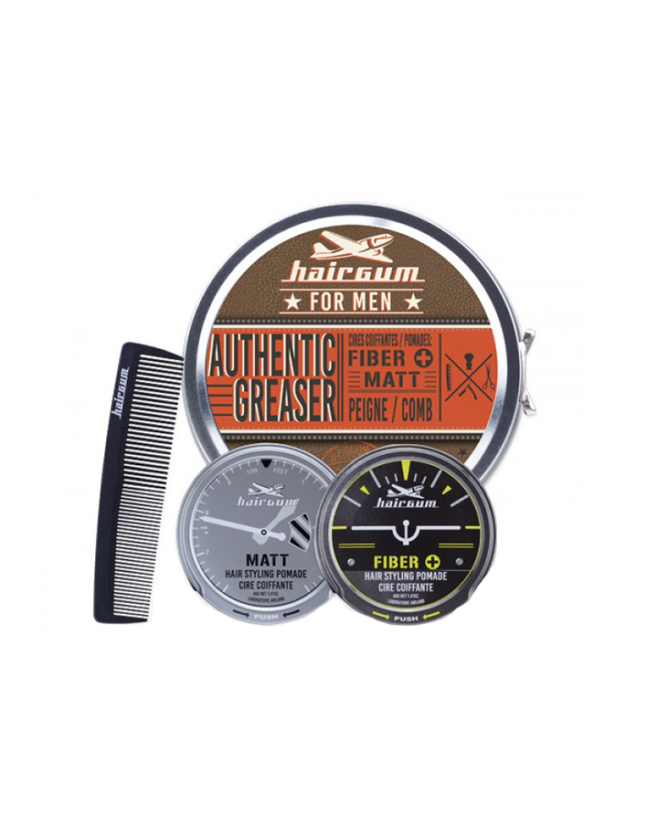 Hairgum Authentic Greaser Pack 5695 Hairgum Pomade Gift Sets €19.90 -20%€16.05