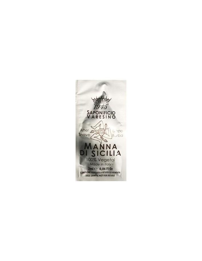 Saponificio Varesino Manna Di Sicilia Aftershave Gift 2ml 0508 Saponificio Varesino Δείγματα €0.00 €0.00