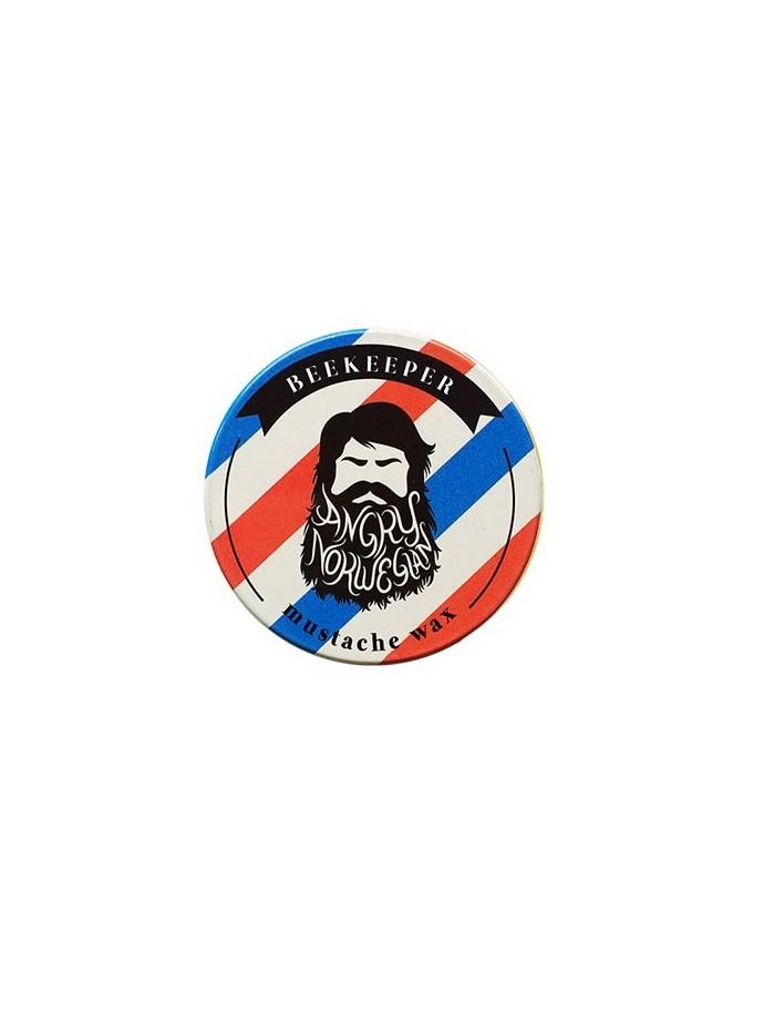 Angry Norwegian Beekeeper Mustache Wax 15gr 3208 Angry Norwegian Κερί Για Μουστάκι €10.50 €8.47