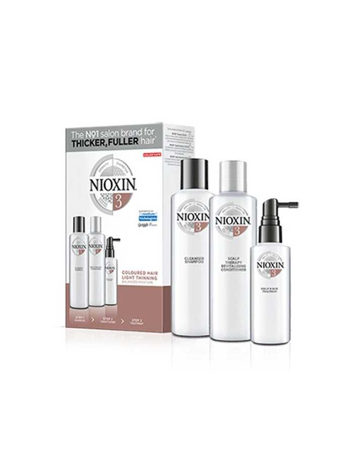Nioxin Kit System 3 Shampoo 150ml & Conditioner 150ml & Treatment 50ml 0364 Nioxin Nioxin €27.90 €22.50
