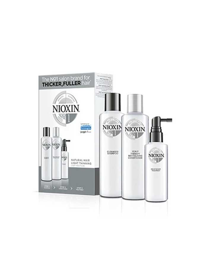 Nioxin Kit System 1 Shampoo 150ml & Conditioner 150ml & Treatment 50ml 0362 Nioxin Nioxin €27.90 €22.50
