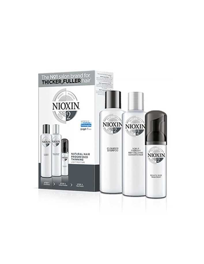 Nioxin Kit System 2 Shampoo 150ml & Conditioner 150ml & Treatment 40ml 0363 Nioxin Nioxin €27.90 €22.50