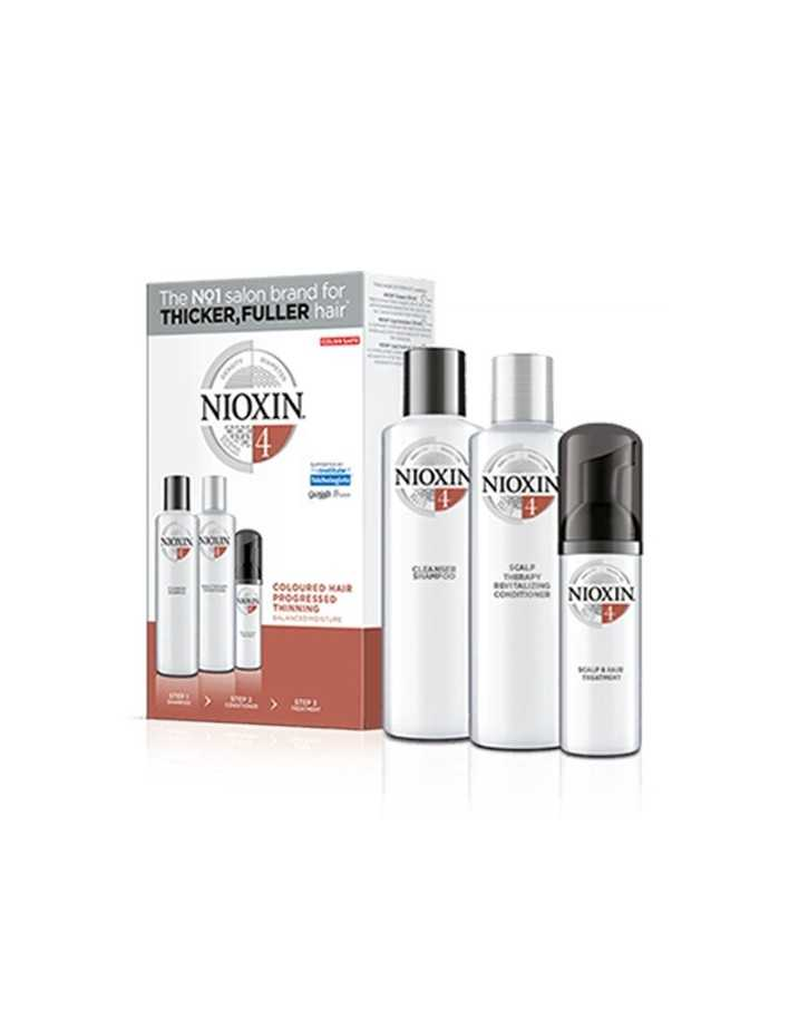 Nioxin Kit System 4 Shampoo 150ml & Conditioner 150ml & Treatment 40ml 0365 Nioxin Nioxin €27.90 €22.50