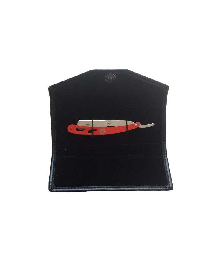 Σαβέτα Ξυρίσματος Κόκκινη & Δερμάτινη Θήκη JG-RX200 6010 JG Σαβέτες JG €13.90 product_reduction_percent€11.21