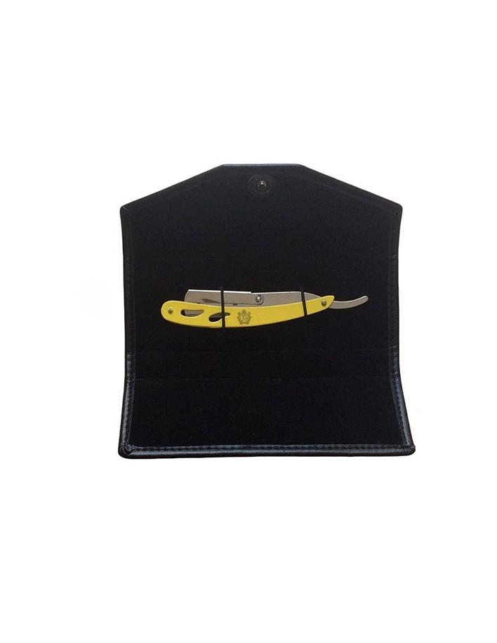 Σαβέτα Ξυρίσματος Κίτρινη & Δερμάτινη Θήκη JG-RX500 6011 JG Σαβέτες JG €13.90 product_reduction_percent€11.21