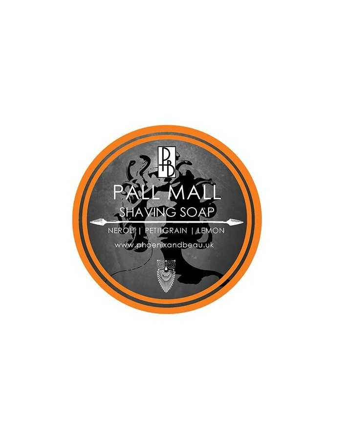Phoenix and Beau Shaving Soap Pall Mall 115gr 6165 Phoenix and Beau Σαπούνια Ξυρίσματος €14.95 -10%€12.06