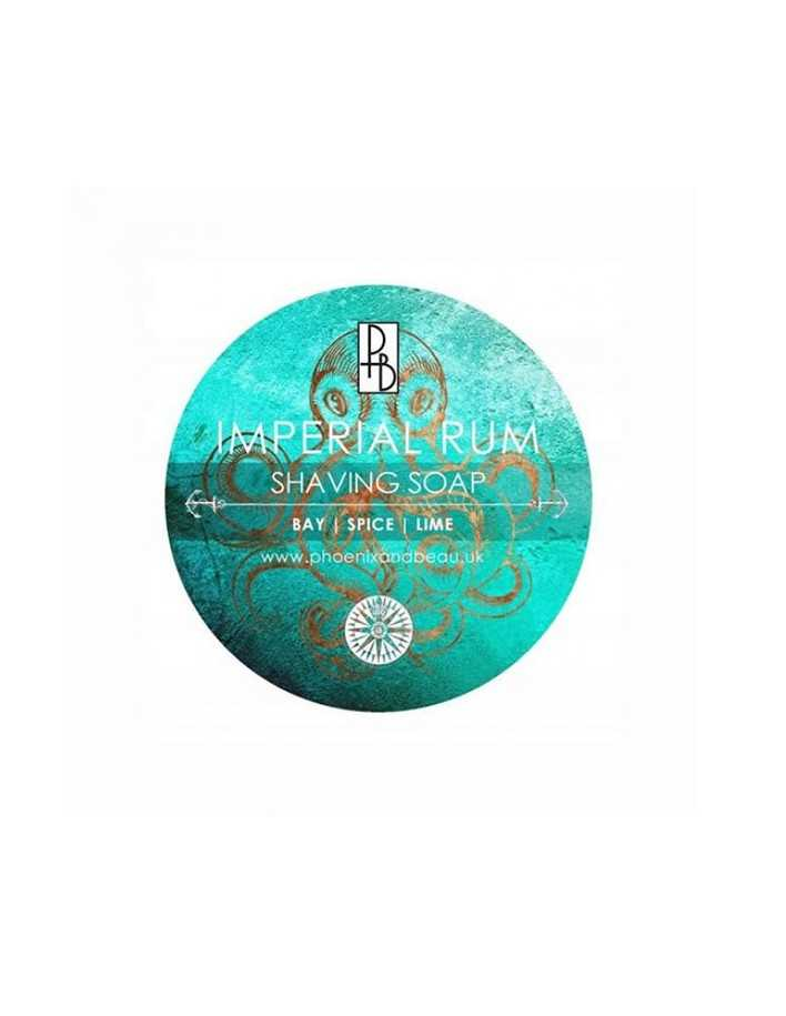 Phoenix and Beau Shaving Soap Imperial Rum 115gr 6167 Phoenix and Beau Σαπούνια Ξυρίσματος €14.95 -10%€12.06