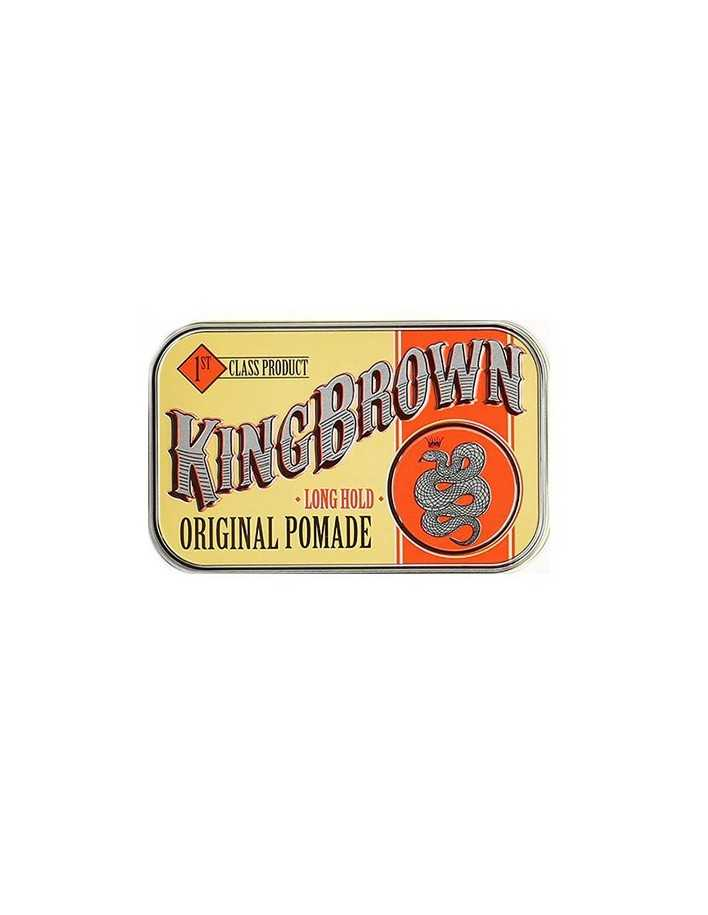 Kingbrown Long Hold Original Pomade 75gr 6174 King Brown Medium Pomade €16.90 €13.63