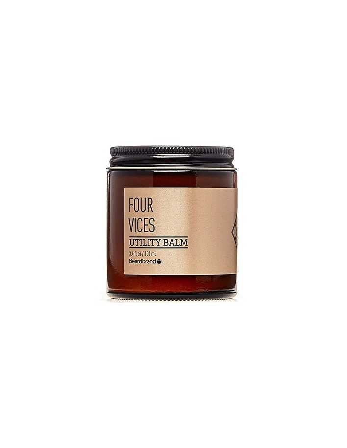 Beardbrand Four Vices Utility Balm 100ml 4902 Beardbrand Balm Γενιών €32.90 -15%€26.53
