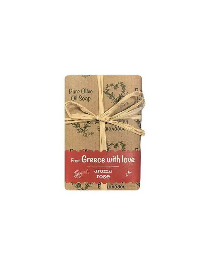 Kalliston Pure Olive Oil Soap & Rose 100gr 6432 Kalliston Olive oil and herbs soaps €1.00 product_reduction_percent€0.81