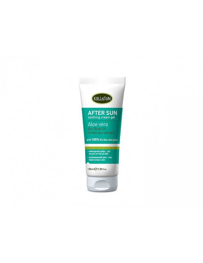Kalliston Bio Olive Oil After Sun Cooling Gel 150ml 6319 Kalliston Natural Care Κρέμες €6.90 product_reduction_percent€5.56
