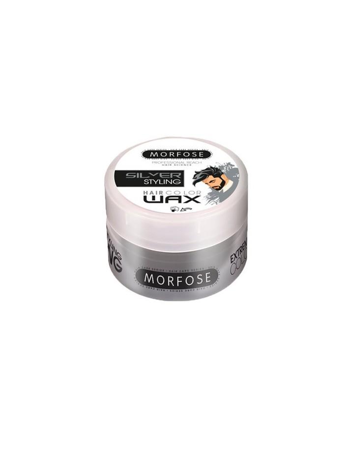 Morfose Hair Color Wax Silver 100ml 6635 Morfose Wax €7.20 €5.81