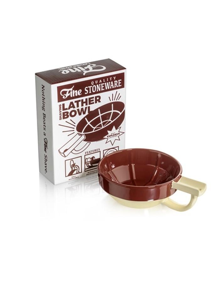 Fine Accoutrements Porcelain Shaving Lather Bowl Crimson-Ivory 6711 Fine Accoutrements Bowls €28.99 €23.38