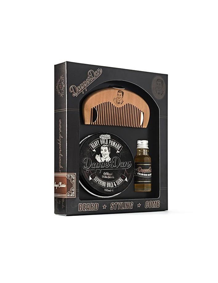 Dapper Dan Hairy Man Combo Gift Set Heavy Hold Pomade 6718 Dapper Dan Gift Sets €31.70 €25.56