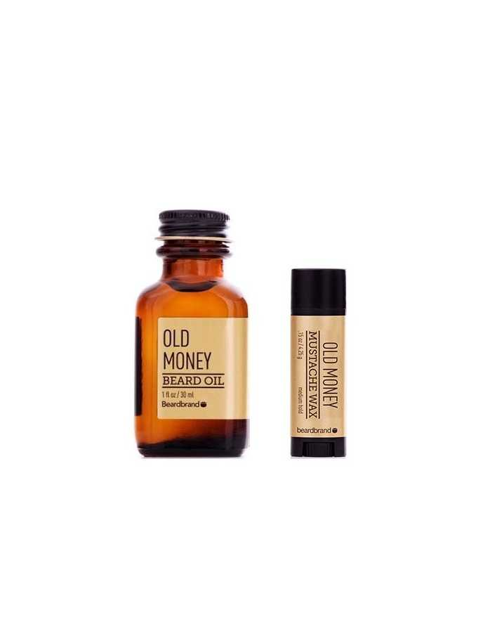 Beardbrand Old Money Beard Oil 30ml & Mustache Wax 4.25gr 2998 Beardbrand Γένια €48.90 -5%€39.44