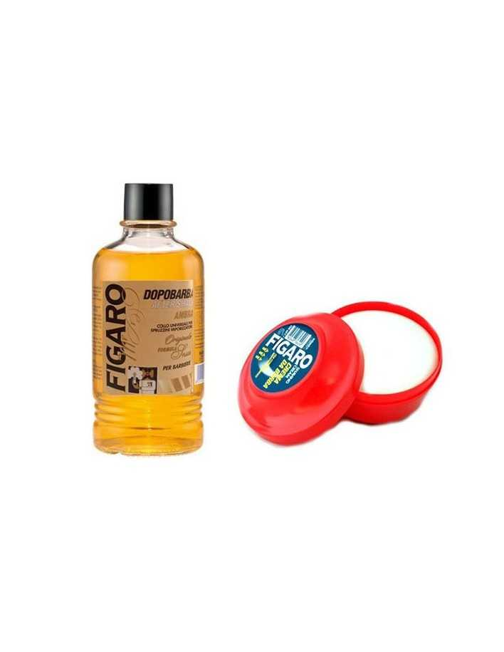 Figaro Ambra Aftershave 400ml & Figaro Crema da barba 150ml 2068 Figaro Barbershop Offers €19.50 -5%€15.73