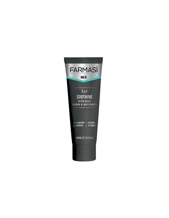 Farmasi Men 2 In 1 Soothing After Shave Balsam & Moisturizer 100ml 6864 Farmasi Men Creme Balm €2.90 €2.34