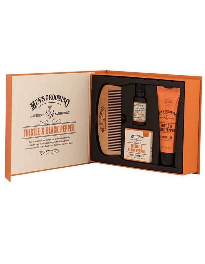 The Scottish Men's Grooming Face & Beard Care Kit 6982 Scottish Fine Soaps Company Προσφορές Για Γένια €22.90 product_reducti...