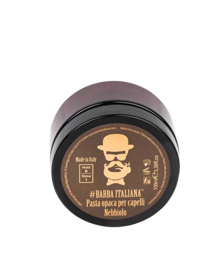Barba Italiana Matte Hair Paste Nebbiolo 100ml 3488 Barba Italiana Matt Paste  €19.50 -21%€15.73