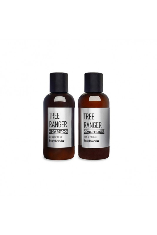 Beardbrand Tree Ranger Shampoo & Conditioner 100ml 2328 Beardbrand Πακέτα Για Μαλλιά €19.80 product_reduction_percent€15.97