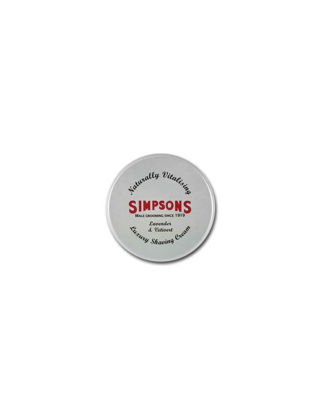Simpson Shaving Cream Lavender   Vetiver 125ml  82a74437a60