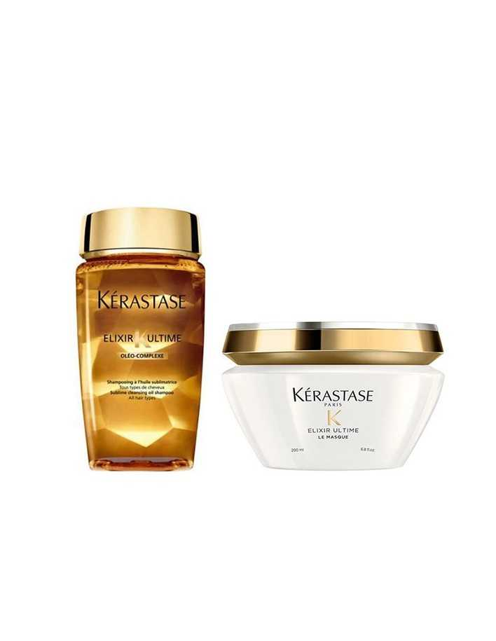 Kerastase Masque Elixir Ultime 200ml & Shampoo 250ml 0485 Kerastase Paris Offers for hair €44.90 product_reduction_percent€36.21