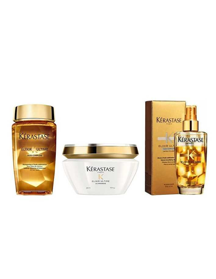 Kerastase Elixir Ultime Pack 1918 Kerastase Paris Offers for hair €77.80 product_reduction_percent€62.74