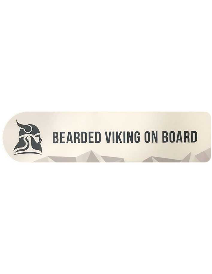 Fit For Viking Sticker White