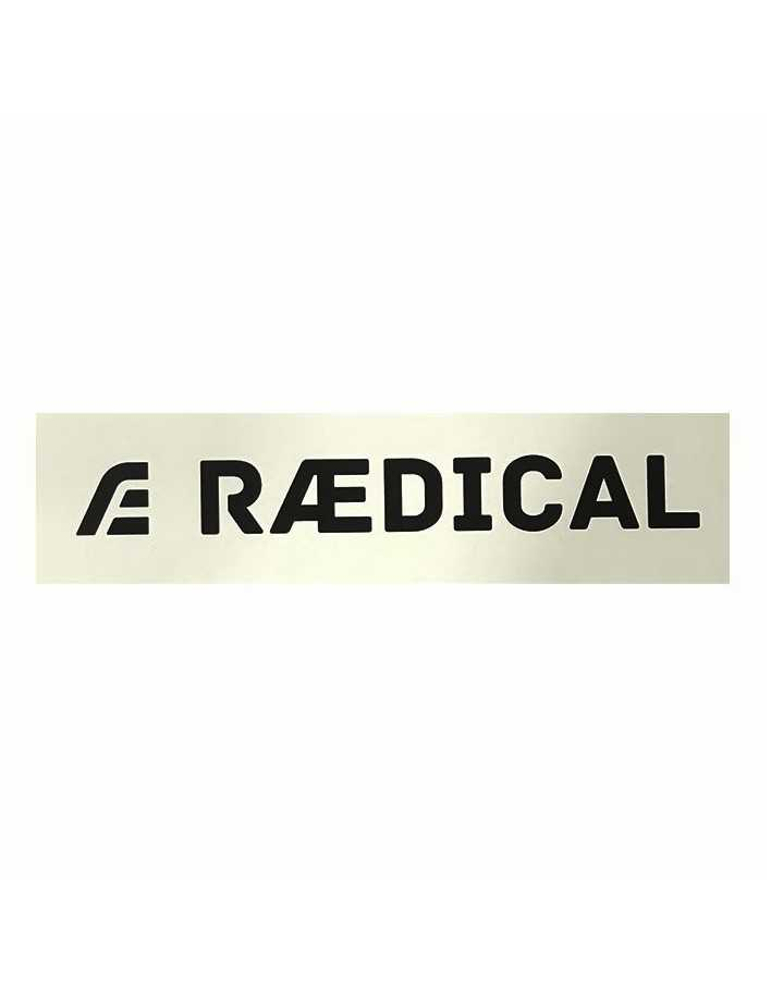 Raedical Sticker White