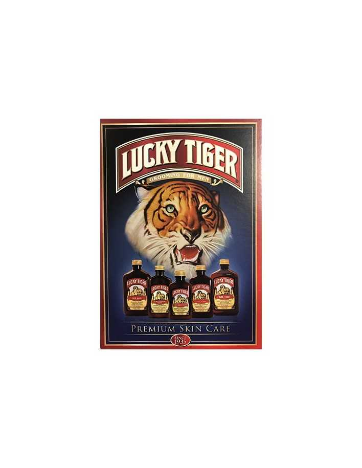 Lucky Tiger Grooming For Men Post Card