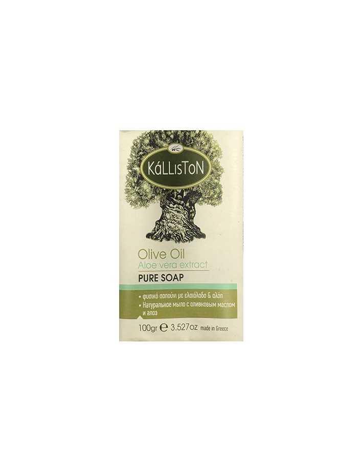 Kalliston Olive Oil Soap & Aloe 100gr