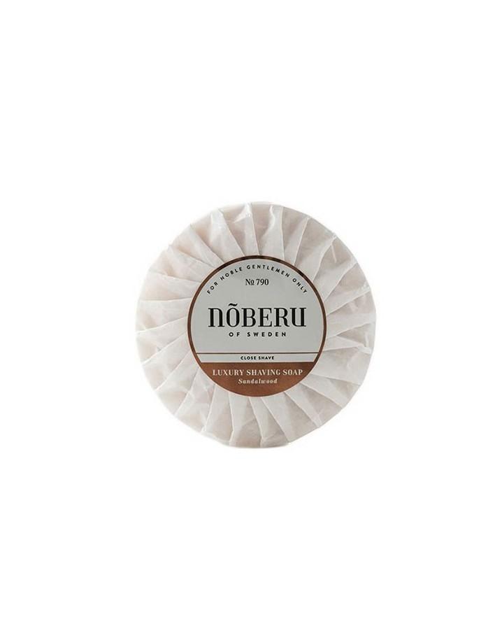 Noberu Luxury Shaving Soap Sandalwood 100gr 7990 Noberu Σαπούνια Ξυρίσματος €18.90 -20%€15.24